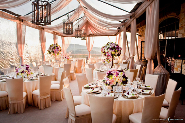 Fabulous drapery ideas for weddings belle the magazine when done right draping your reception or ceremony can take your venue from pretty to pretty amazing in one second dont believe me junglespirit Choice Image
