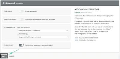 Cara Memasang Push Notifications di Blogger