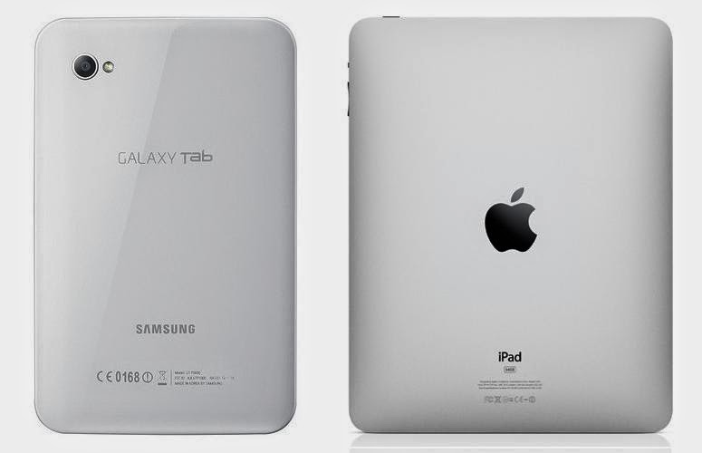 Tablets Apple Samsung