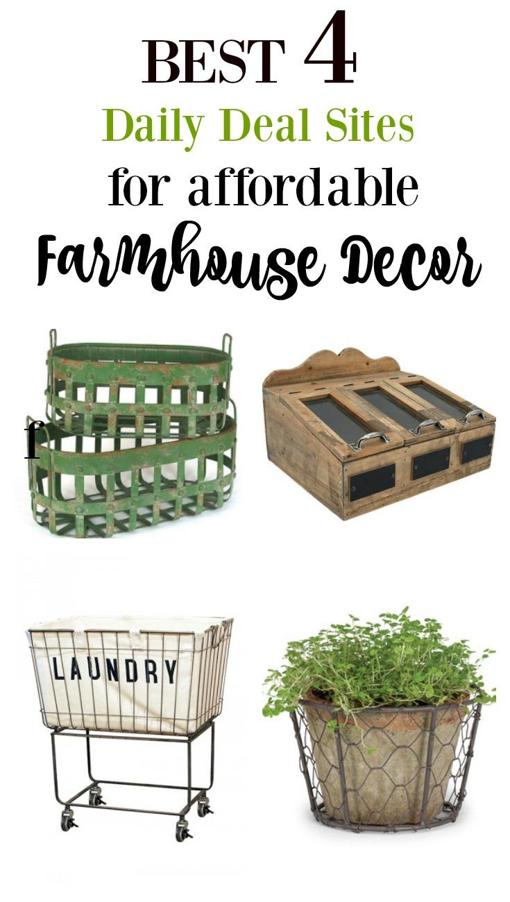 where to buy cheap farmhouse decor