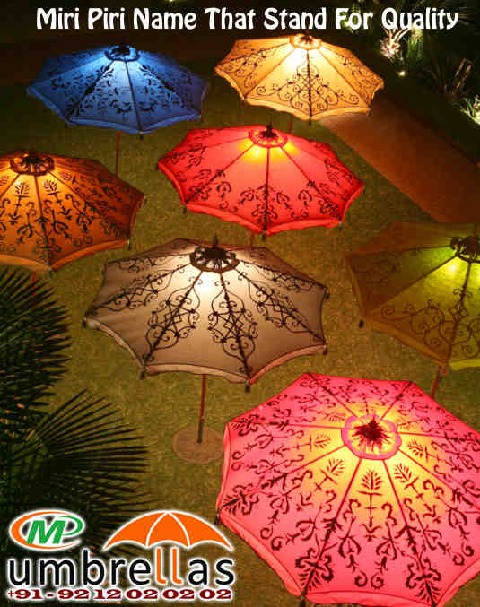 Wedding Parasols, Decorative Garden Parasols, Parasol Umbrella, New Delhi,  Supply All Over India