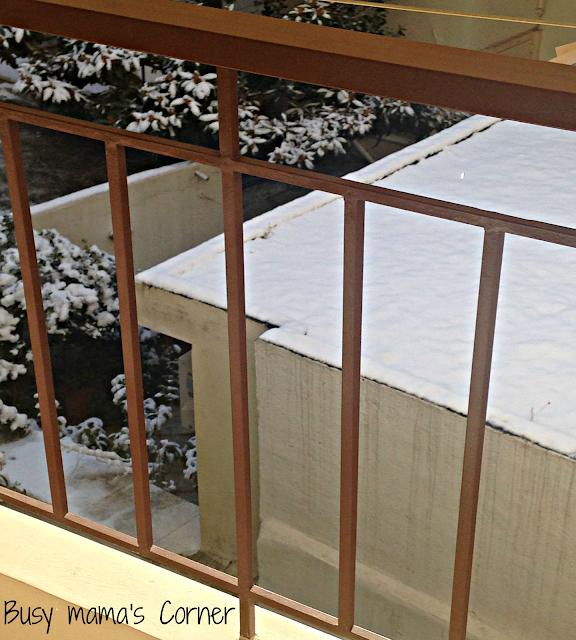 θέα στο χιόνι
