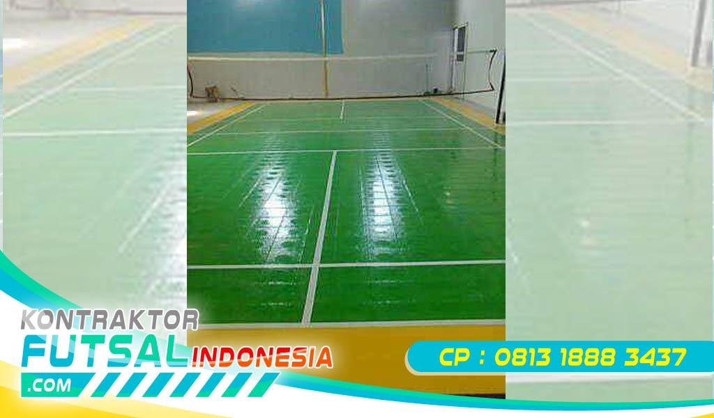 Biaya Membuat Lapangan Badminton Profesional
