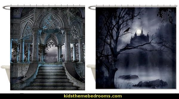 Decorating Theme Bedrooms Maries Manor Gothic Style Bedroom - Gothic Style Curtains