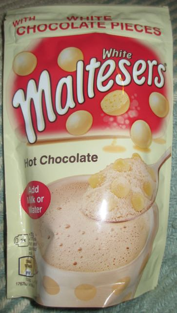 Foodstuff Finds White Maltesers Hot Chocolate Tesco By