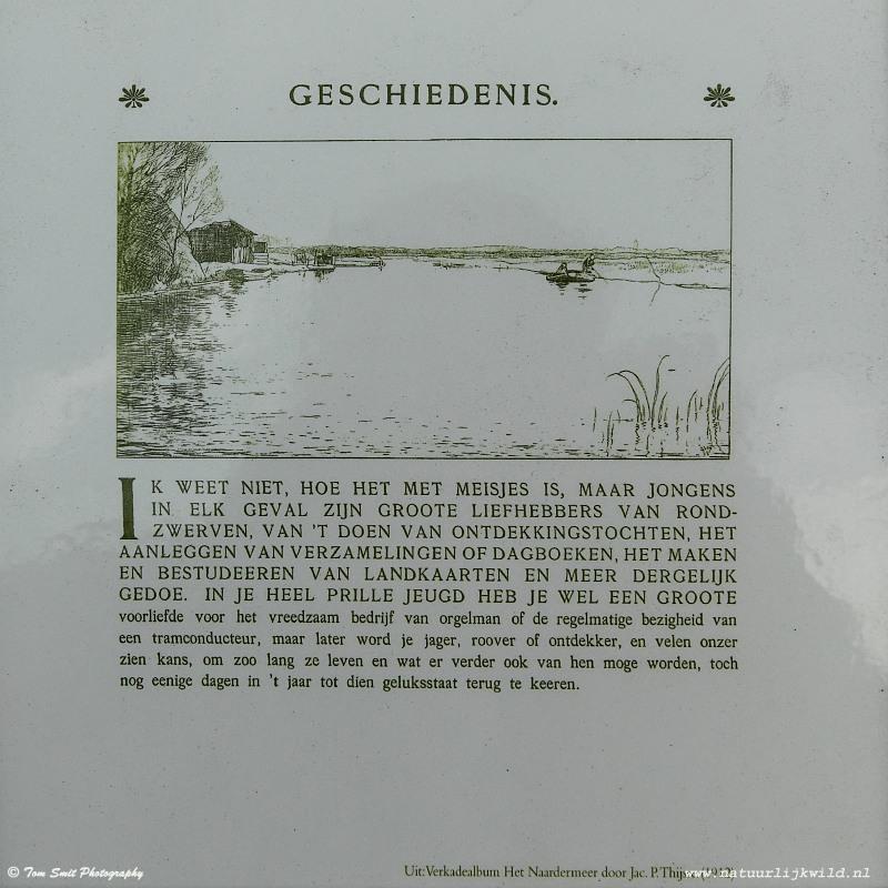 Het Naardermeer ….