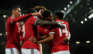 Manchester United vs Basel Champions League Match Highlights