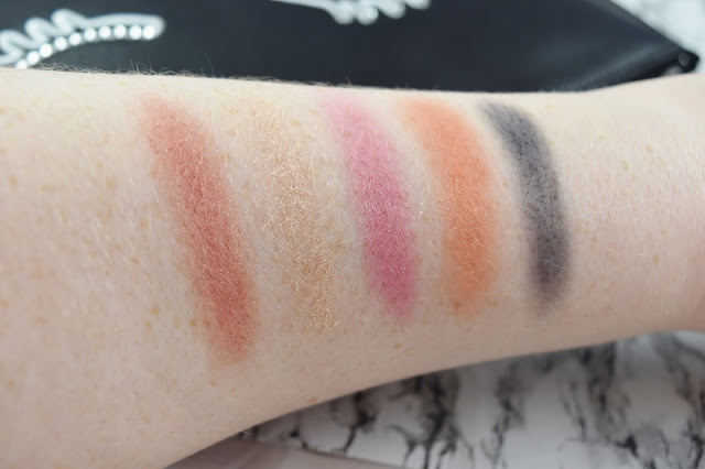 YSL Beauty Keep an Eye on Me Couture Palette Collector Swatches
