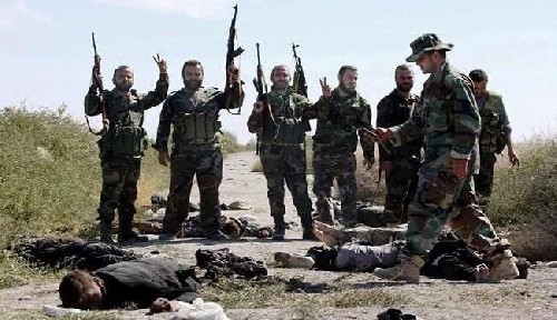 600 ISIS Terrorists Killed in Clashes with Syrian Army Only