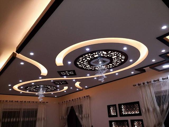 %2BCNC%2BFalse%2BCeiling%2BDesigns%2BIdeas%2B%2B%25283%2529 22 Contemporary Modern CNC False Gypsum Ceiling Decorating Ideas Interior