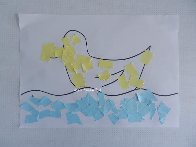 || Activité : Réaliser un canard en collage