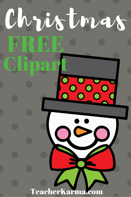 Free Christmas Clipart TeacherKarma.com