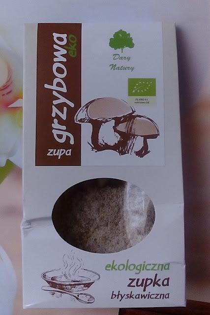 Ekspresowa zupka ekologiczna grzybowa