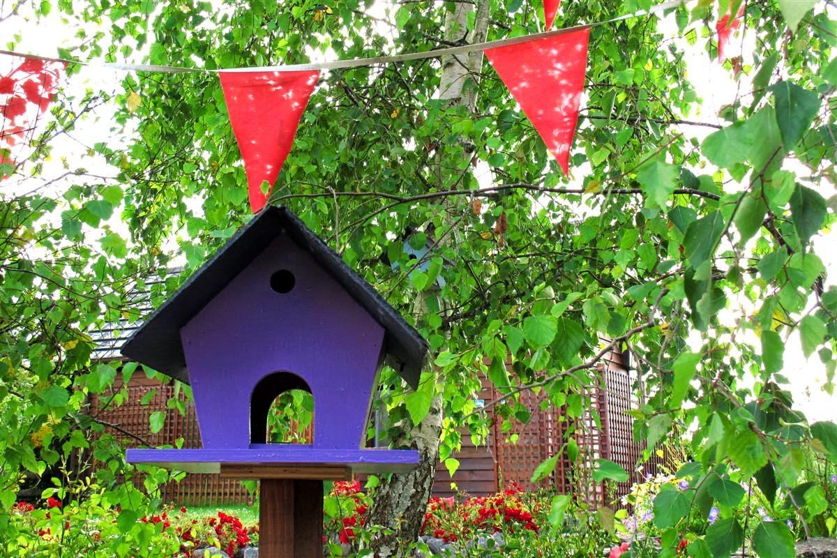 birdhouse Brigit's Garden  © Annie Japaud Photography