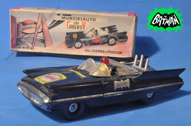 Batman Batimóvil 1966 TV Serie - Murcielauto de Bichi - Made in Argentina