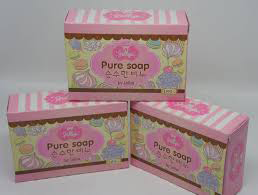 grosiran sabun pure soap