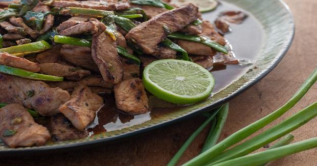 Pork Stir-Fry With Honey, Lime, And Ginger Recipe