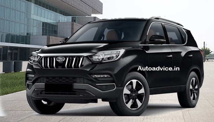 Mahindra SUV Alturas G4 black color