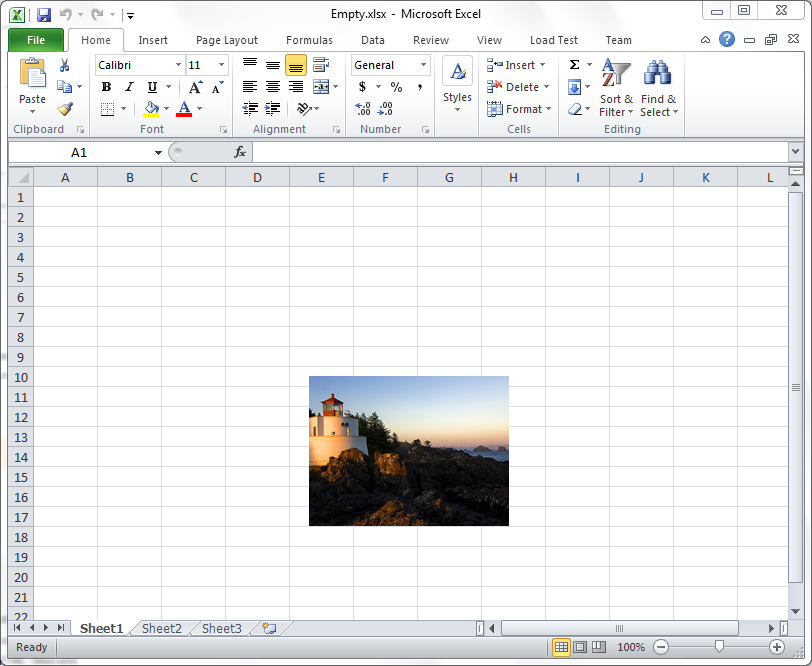 Developer's notes: How to insert an image into an Excel document