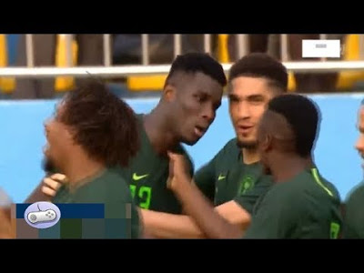 Nigeria 1-0 Egypt: Paul Onuachu's stunning goal gives Super Eagles victory against Pharaohs