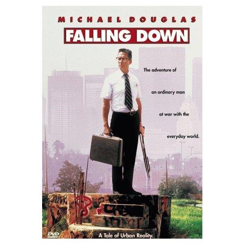 Film Poster Falling Down 1993 Michael Douglas movieloversreviews.blogspot.com