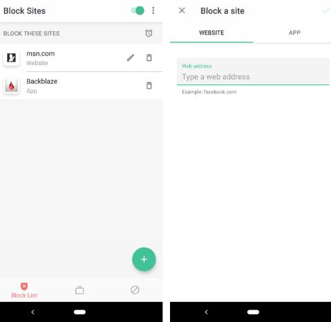 Cara Mudah Memblokir Situs Web  di Perangkat Android 2