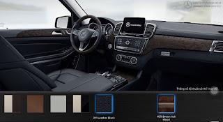 Nội thất Mercedes GLS 500 4MATIC 2016 màu Đen 211