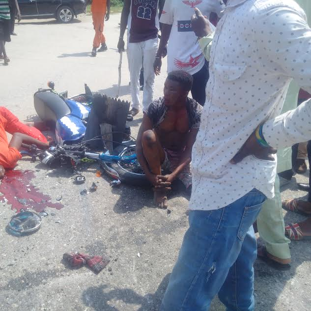 Fatal Accident At Chevron Roundabout, Lekki