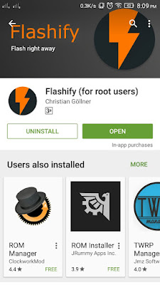 download falshify app