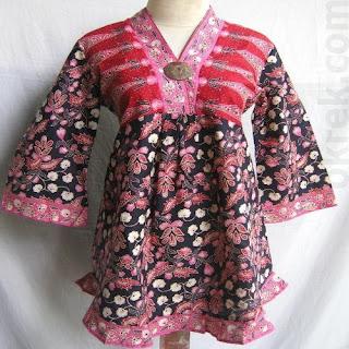 baju batik untuk kerja wanita