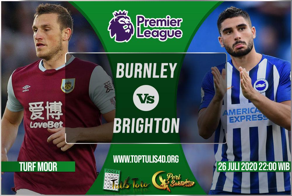 Prediksi Burnley vs Brighton 26 Juli 2020