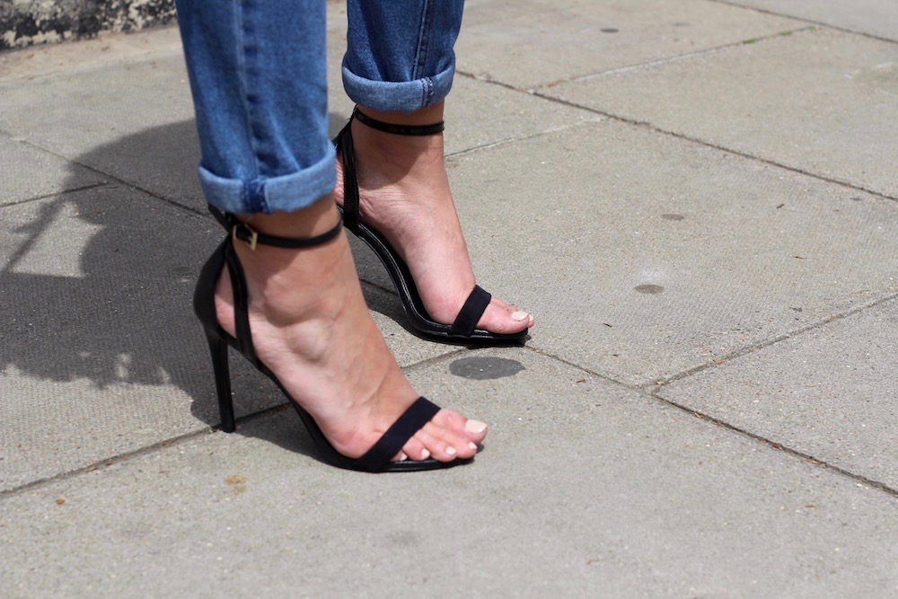 primark strappy heels peexo