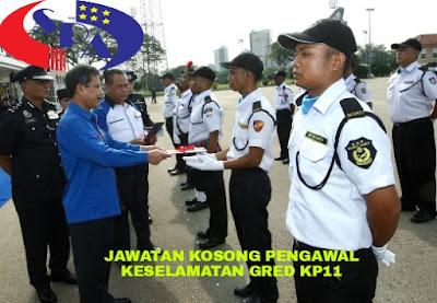Permohonan Jawatan Kosong Pengawal Keselamatan Gred KP11