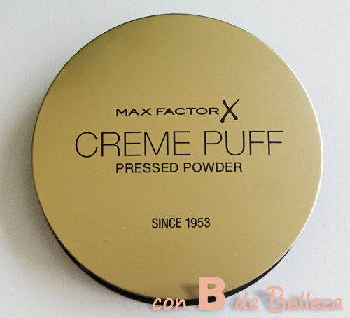 Max factor polvos Creme puff