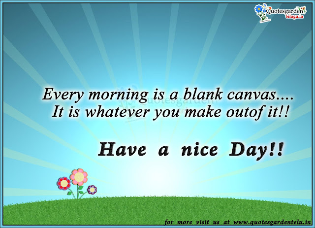 Touching Good morning messages - Inspirational Quotes - Quotesgardentelugu