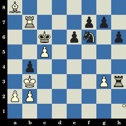 Robert James Fischer vs Tigran Petrossian, Bled, 1961. Les Blancs jouent et matent en 3 coups