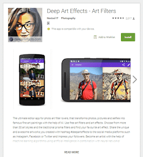 Deep art Effects - Art Filters app