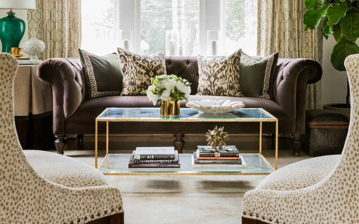 Leopard print living room decorating ideas for Leopard print living room ideas