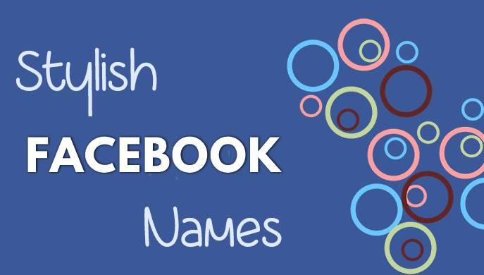 facebook stylish names list