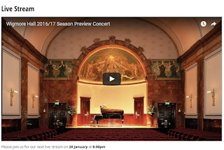 Wigmore Hall - Live Stream