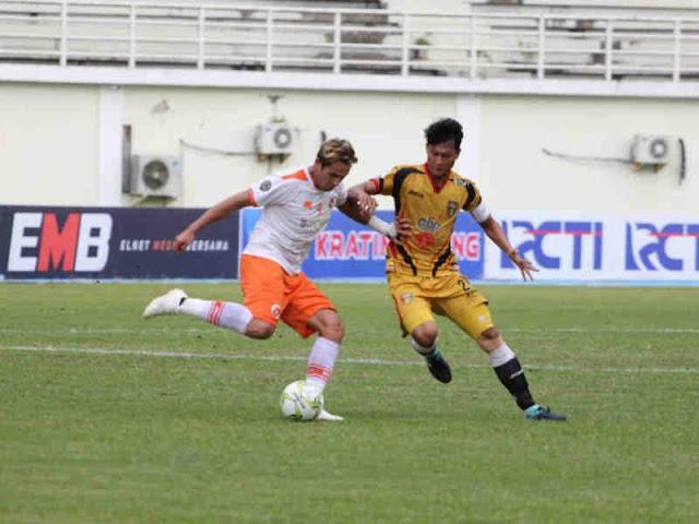 Perseru Serui Permalukan Mitra Kukar di Tenggarong, 4-1