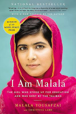book discussion I AM MALALA Malala Yousafzai audiobook Nonfiction November