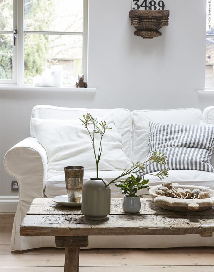 Una vivienda natural e inspiradora decorada integramente con IKEA