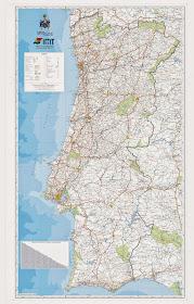 Mapas A Rede Rodoviaria Portuguesa Em Mapas