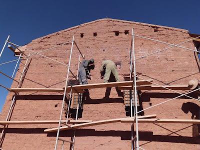 Renovierung der Kirche in San Pablo de Lipez