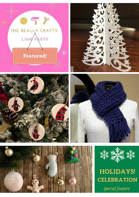 The Really Crafty Link Party #97 featured posts