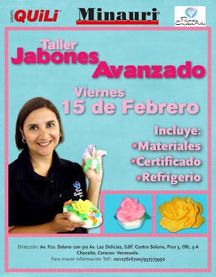 CURSO TALLER JABONES ARTESANALES AVANZADO - Rosas En Jabón Arte