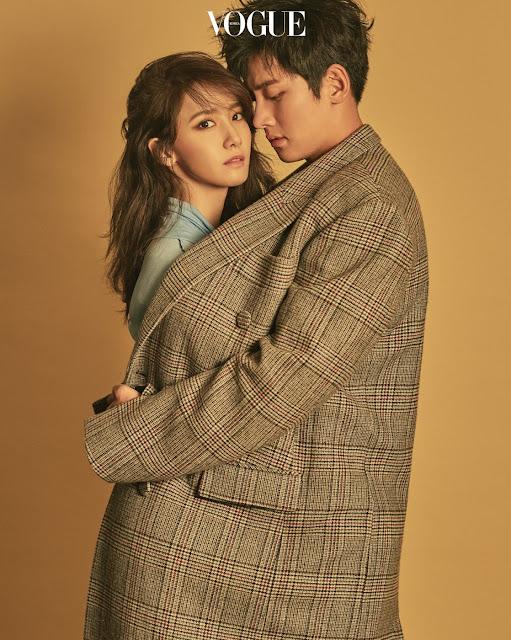 YoonA & Ji Chang Wook Vogue Pics