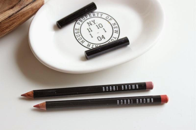new bobbi brown lip pencils review the sunday girl