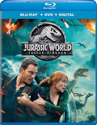 Jurassic World Fallen Kingdom Blu Ray